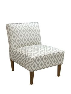 Armless Chair with Cone Legs by Platinum Collection by SF Designs at Gilt