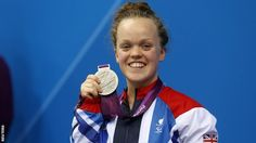 Ellie Simmonds takes silver in S6 100m at Paralympics 2012.  Ellie was denied a third gold medal of the London 2012 Games by a phenomenal swim and world record from Victoria Arlen of the United States.  The American, who almost missed the Games after classification controversy, held off the 17-year-old's challenge to finish in one minute 13.33 seconds.  Congratulations to Victoria who only started swimming 2 years ago.