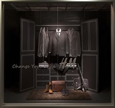 Menswear Window Display 2014 | by Seneca Visual Merchandising