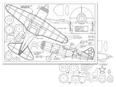 Polikarpov 185 - plan thumbnail