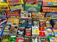 GREAT LOT OF OLD UNOPENED BASEBALL CARDS IN PACKS Look for HallofFamers Such As Cal Ripken Ken Griffey Jr Nolan Ryan Frank Thomas Don Mattingly  Wade Boggs George Brett  Tony Gwynn *** Read more  at the image link. (Note:Amazon affiliate link)
