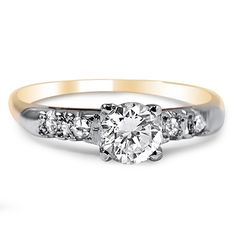 14K Yellow Gold The Anona Ring from Brilliant Earth