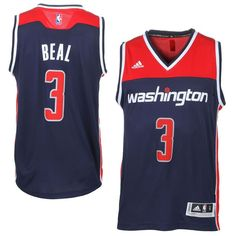 995a8c444 Bradley Beal Washington Wizards adidas Player Swingman Jersey - Navy