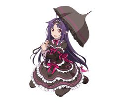 """""""Sword Art Online - Code Register"""" Plays With Fashion In Gothic Dresses, Outfit Swaps And Kunst Online, Online Art, Sword Art Online Yuuki, Do I Love Her, Demon Wolf, Online Anime, Another Anime, Asuna, Gothic Dress"""