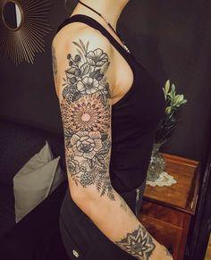 mandala tattoo ideas