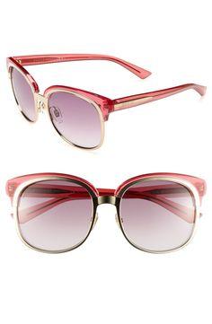 <3 Gucci pink sunglasses