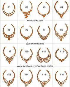 Basis Necklace Only Nur Basis-Halskette Leather Jewelry, Leather Craft, Wire Jewelry, Beaded Jewelry, Handmade Jewelry, Jewellery, Stylo 3d, Ballroom Jewelry, Jewelry Design Drawing