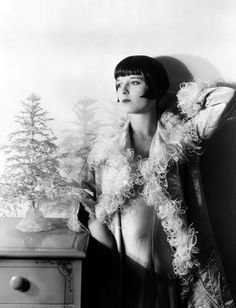 The Lovely and modern looking Louise Brooks in one of my favorite movie star photos of all time..