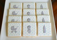 Lizy B: Shake, Rattle and Roll Baby Shower Cookies!