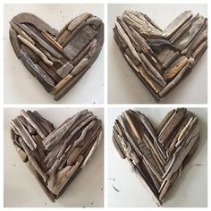 Driftwood Wall Art, Driftwood Projects, Driftwood Sculpture, Driftwood Ideas, Ribbon Sculpture, Boutique Hair Bows, Beach Crafts, How To Distress Wood, Upcycle