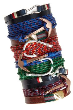 i want one of these miansai hook bracelets so bad! Men Accesories, Fashion Accessories, Black West, Style Masculin, Men Store, Modern Man, Swagg, Well Dressed, Bracelets For Men