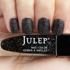 Julep - Sigourney - It Girl - Black holographic stardust