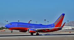 https://flic.kr/p/FWiowV | N221WN Southwest Airlines 2005 Boeing 737-7H4  (cn 34259/1776) | Las Vegas - McCarran International (LAS / KLAS) USA - Nevada, March 16, 2016 Photo: Tomás Del Coro