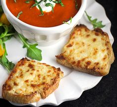 best cheese bread to go with tomato soup - Google Search