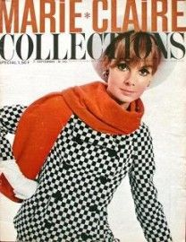 Jean Shrimpton - Marie Claire Magazine Cover [France] (15 September 1965)