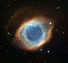New Picture Goes Into the Eye of the Helix Nebula. This color-composite image of the Helix Nebula (NGC 7293) was created from images obtained by the Wide Field Imager (WFI), an astronomical camera attached to the ESO telescope at the La Silla observatory in Chile.