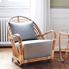 This kind of rattan chair is seriously a magnificent design concept. Outdoor Wicker Chairs, Patio Dining Chairs, Side Chairs, Adirondack Chairs, Gold Desk Chair, Desk Chairs, Wayfair Living Room Chairs, Swivel Barrel Chair, Wicker Furniture