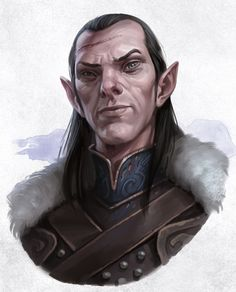 curse of strahd characters / curse of strahd characters Character Costumes, Character Portraits, Character Drawing, Character Design, Forgotten Realms, Fantasy Male, Fantasy Rpg, Male Elf, Fantasy Portraits