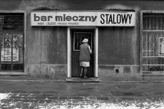 Bar Mleczny w Warszawie, Poland Country, Stairway To Heaven, Illustrations, Socialism, Warsaw, Farm Life, Retro, Old Photos, Nostalgia