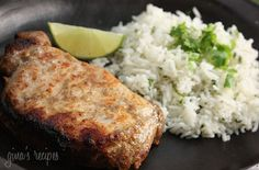Garlic Lime Marinated Pork Chops Recipes