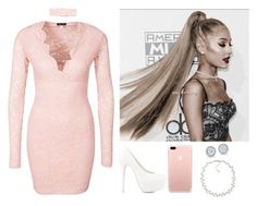 """throw some perm on your attitude, girl you gotta relax🥀"" by bittersweetgrande ❤ liked on Polyvore featuring Carolee and Nly Shoes"