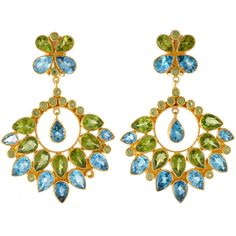 Totally my style Statement Earrings, Drop Earrings, Amrita Singh, Girls Best Friend, Feather, Bronze, Brass, Jewels, Gemstones