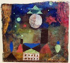 Paul Klee: Stern über bösen Häusern.