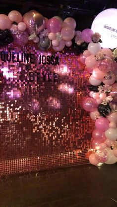 18th Birthday Party Themes, 21st Bday Ideas, Birthday Balloon Decorations, Gold Birthday Party, Birthday Party For Teens, Diy Birthday, Birthday Party Decorations, Balloon Arch, Balloons