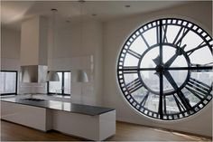 The incredible 7,000 square foot penthouse is located in the Clock Tower building in downtown Brooklyn, and is nothing short of breathtaking. This stunning triplex features 14 foot tall clock faces that allow plenty of natural light to enter the dwelling, while also providing amazing views of the Brooklyn Bridge and New York Harbour. The triplex penthouse is equipped with a glass walled elevator for easy access to each of the floors.