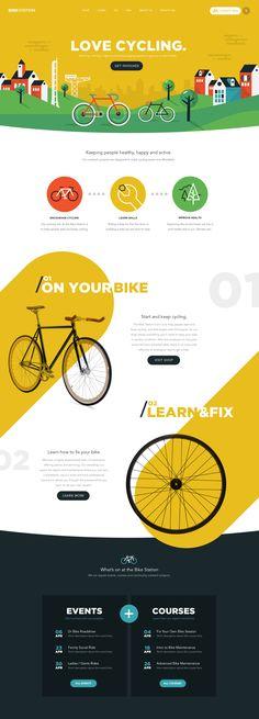 Bikestation Landing Page