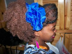 Click the image for Stacey's natural hair photos and regimen