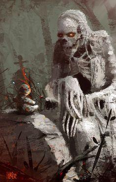 Morbid Fantasy • Needle and Thread – horror concept by ilker Yüksel...
