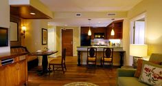 Grand Waikikian Suites By Hilton Grand Vacations, Hi - Living Area Of Suite - With Kitchen
