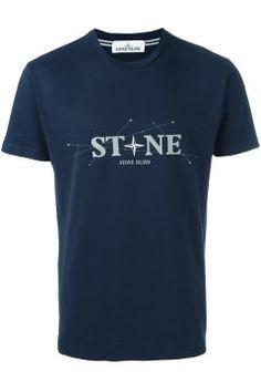 Stone Island Logo Print T-Shirt https://modasto.com/stone-ve-island/erkek-ust-giyim-t-shirt/br4750ct88