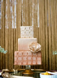 Gold cake. Gimme Some Sugar.