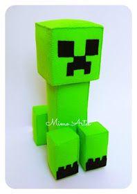 Mimo Artes: Minecraft Minecraft Crafts, Minecraft Toys, Sonic Birthday, Minecraft Birthday Party, Unicorn Birthday, Mine Craft Party, Rodjendanske Torte, Minecraft Wallpaper, Valentine Day Boxes