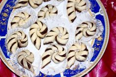 Escargots à la pâte de dattes ou aux amandes