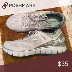 Skechers tennis shoes Brand new, never worn. Memory foam gel infused Skechers Shoes Athletic Shoes