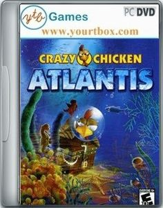 Crazy Chicken Atlantis Game - FREE DOWNLOAD - Free Full Version PC Games and Softwares
