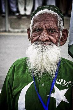 Chacha from Vahga border. Pakistan