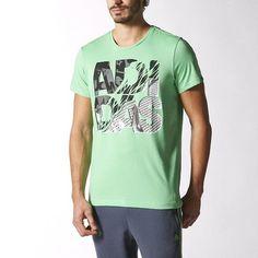 Adidas Men New Training 90s Lineage Short Sleeve Tee Color Flash Green  S16629  Adidas   a3e0e717083de