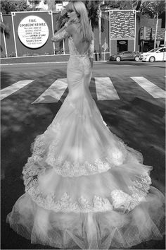 See more dramatic couture Inbal Dror Gowns Here --->  http://www.weddingchicks.com/inbal-dror-wedding-gowns/ #weddinggown #weddingdress