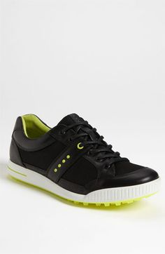 ECCO 'Golf Street' Golf Shoe (Men) available at Nordstrom  These look fabulous!