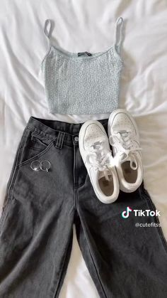 Casual School Outfits, Trendy Summer Outfits, Basic Outfits, Nike Outfits, Cute Casual Outfits, Teenage Girl Outfits, Teen Fashion Outfits, Girly Outfits, Outfits For Teens