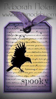 Raven-Halloween-Tag