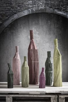 Paola Paronetto - Paper and Clay objects