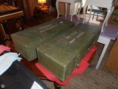 Armeijan varuslaatikot 2kpl hienot laatikot H/kpl