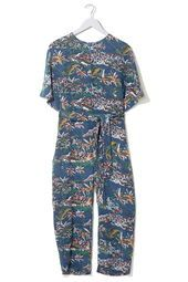 Hawaii Silk Judo Jumpsuit by Boutique
