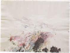 Lyrical Abstraction . Cy Twombly