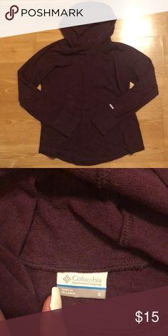 46b9fc7f9b7 Purple sweatshirt 💜 Cozy athletic pullover Columbia Tops Sweatshirts    Hoodies Columbia